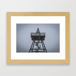 Maasduinen Viewpoint Framed Art Print