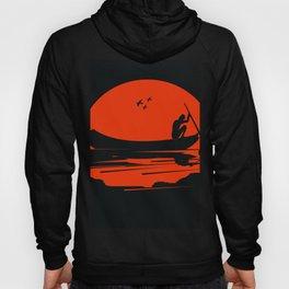 fisherman silhouette Hoody