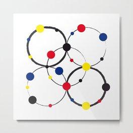 Naive - Nearly Piet almost Mondrian 4 Metal Print