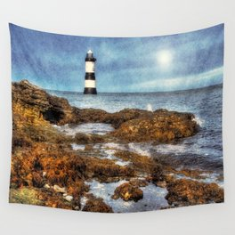 Penmon Lighthouse Wall Tapestry