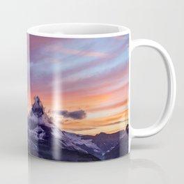 Himalayas Fishtail Mountain Sunset Coffee Mug