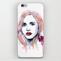 lydia martin iPhone & iPod Skins featuring Lydia Martin by Sterekism