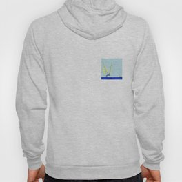 Flying with May towards the West in May - shoes stories Hoody