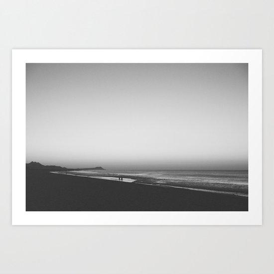 engage. Art Print