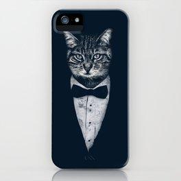 Mr Cat iPhone Case