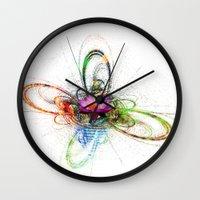 lotus Wall Clocks featuring Lotus by haroulita