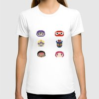 big hero 6 T-shirts featuring Big Hero 6 by Alison V.