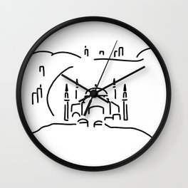 istanbul hagia sophia Wall Clock
