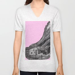 glitch house Unisex V-Neck