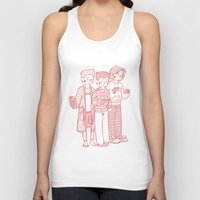 sweater Tank Tops featuring Sweater Weather by rdjpwns