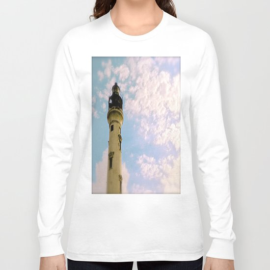 Cloudy at the Lighthouse Long Sleeve T-shirt