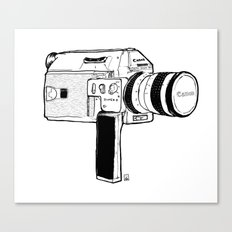 Super8 Canvas Print