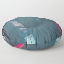 Neon Winter Floor Pillow