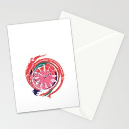 Lost Time Clock Stationery Cards