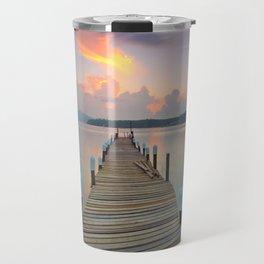 water dock and seascape Travel Mug