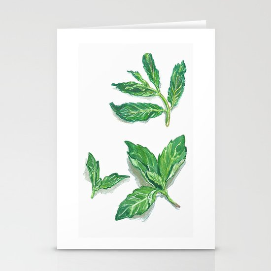Herbs 2 Stationery Cards