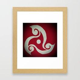 triskel Framed Art Print