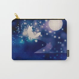 MOONLIGHT FOX Carry-All Pouch