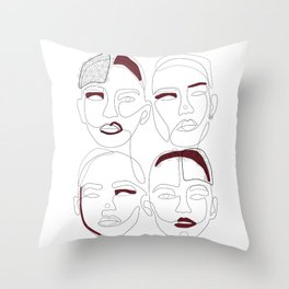 Are Unique Throw Pillow