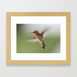 Aerial Maneuver Framed Art Print