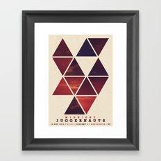 Midnight Juggernauts Framed Art Print