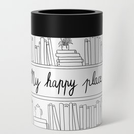 Books, cats and tea : my happy place ! Can Cooler