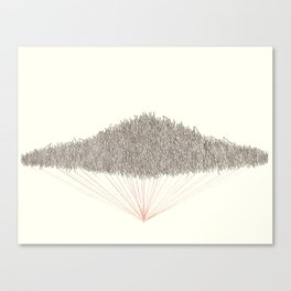 Untitled (Airy) Canvas Print