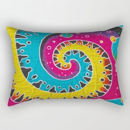 Jamaican Fabric Rectangular Pillow