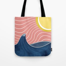 Sun, beach and sea Tote Bag