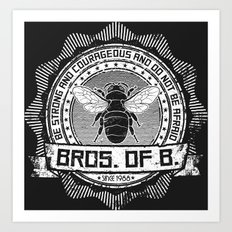 Bros. of B. Dark Art Print