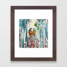 La belle histoire Framed Art Print