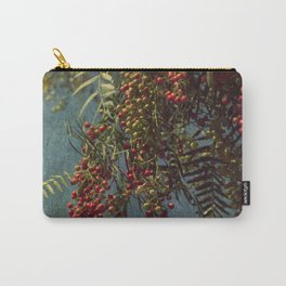 Grunge garden berries Carry-All Pouch