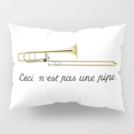 Trombone Surrealism Pillow Sham