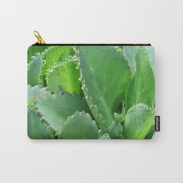 Succulent Leaves Carry-All Pouch