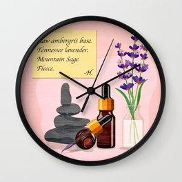 The Cannibal's Hand Cream Recipe Wall Clock
