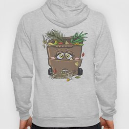 Yard Waste Monster Hoody