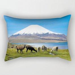 Chungara Lake, Chile Rectangular Pillow
