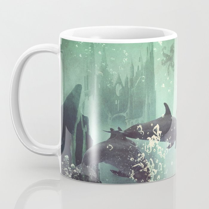 The Sea Unicorn Lady Coffee Mug