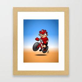 MTB Framed Art Print