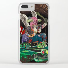 Death Rattle Clear iPhone Case