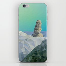 This is Not Easter Island iPhone Skin