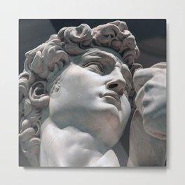 "Michelangelo ""David"" (head)(2) Metal Print"