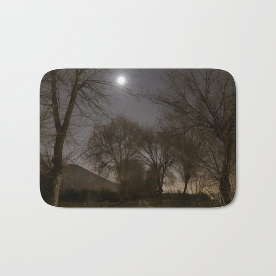 Into the Moonlight Bath Mat
