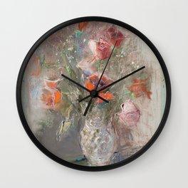ROSES, PILAR VAZQUEZ Wall Clock