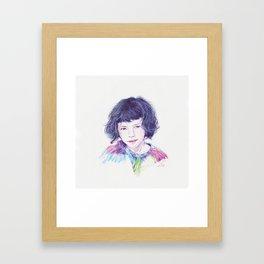 Luma Framed Art Print