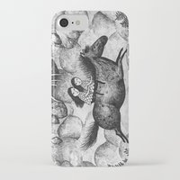 sisters iPhone & iPod Cases featuring Sisters by Ulrika Kestere