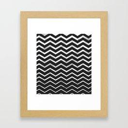Zag Framed Art Print