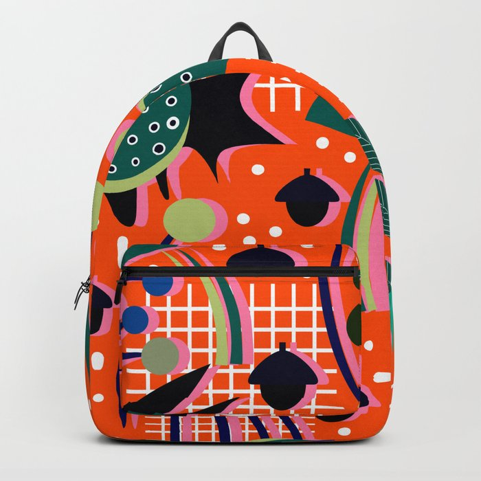 When autumn turns to winter Backpack