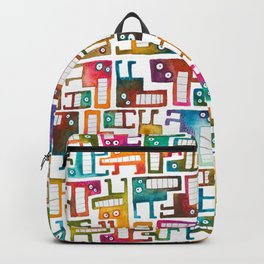 Tetris Monsters Backpack