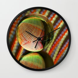 Variations on a theme 2 Wall Clock